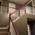 Interior Painting - Foyer Staircase