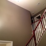 Interior Painting - Foyer Wall