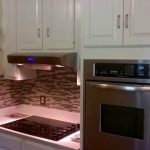 Kitchen Cabinet Painting and Backsplash Installation