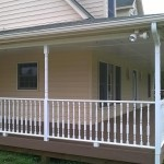 Exterior Painting - Porch