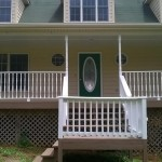 Exterior Painting - Porch Railings