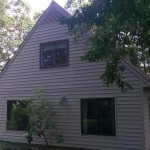 Exterior Staining of House Siding