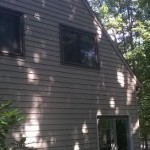 Exterior Siding Staining